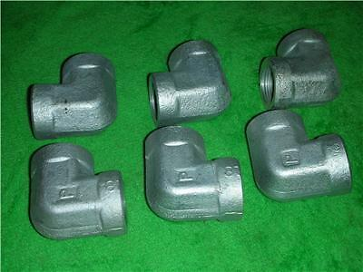 STEEL HIGH PRESSURE 3/4 PIPE FITTING FITTINGS 90 DEGREE