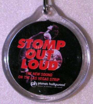 STOMP OUT LOUD Planet Hollywood Key Chain NEW RARE