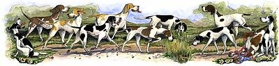 Enid Groves English Pointer Hybrid Print