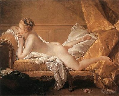 Francois Boucher Marie-Louise O'Murphy Painting repro