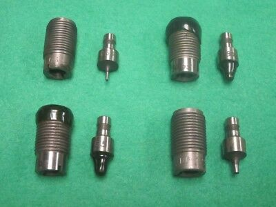 8 Assorted Assortment Perforator Die Punch Set 3/4-16
