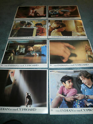The Indian In The Cupboard(1995)Set Of 8 Diff Orig Lcs
