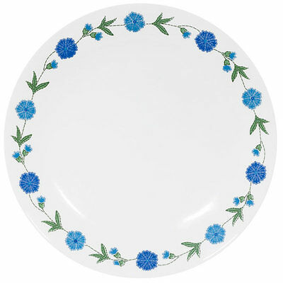 CORELLE LIVINGWARE SPRING BLUE  LOT OF  4  SALAD  LUNCHEON PLATES