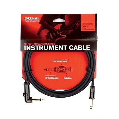 Planet Waves PW-AGRA-10 10' R/A Circuit Breaker Guitar Cable.- Lifetime Guarante