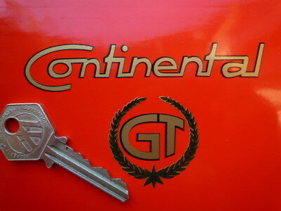 ROYAL ENFIELD CONTINENTAL GT Motorcycle Bike STICKER Garland & Text Cut Vinyl