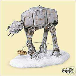 2006 Star Wars Imperial At-At And Rebel Snowspeeder
