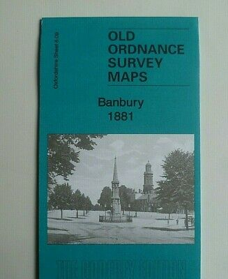 OLD Ordnance Survey Map Banbury Oxfordshire 1881 Sheet 6.09 Brand New