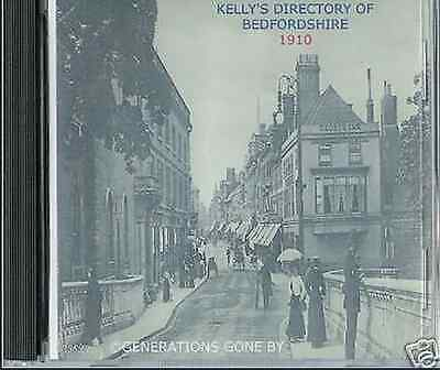 Genealogy Directory Of Bedfordshire 1910 Cd Rom