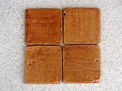 12- 4x4 RUSTIC STONE MOLDS MAKE DIY WALL COUNTER FLOOR TILE FOR PENNIES EACH