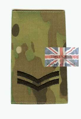 New Black on Multicam MTP Corporal CPL RANK SLIDE (Army