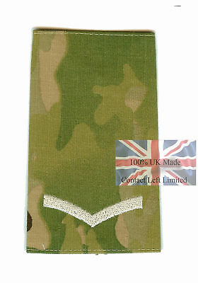 Pair Ivory on Multicam MTP Lance Corporal RANK SLIDES