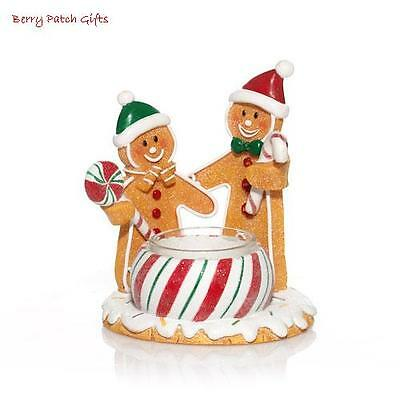 Yankee Candle~GINGERBREAD MEN/FRIENDS/COUPLE TEALIGHT HOLDER~CANDYCANE~CHRISTMAS