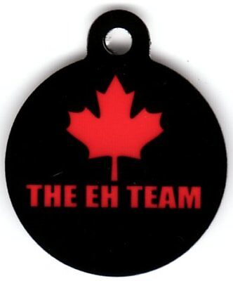 Engraved Pet ID Tag The Eh Team Canada Tag