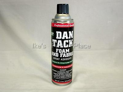 Foam & Fabric Spray Glue/Adhesive DAN TACK 10.2oz. Can