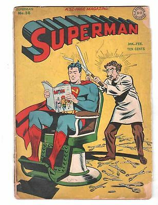 superman # 38  battle of the atoms 1946 issue