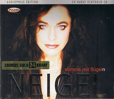Neigel,Julia Stimme mit Flügel(n) Zounds Gold CD Neu OVP Sealed Audiophile Edit.