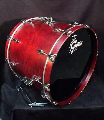 Gretsch USA NOS 18 x 22 Bass Kick Drum Rosewood Satin Lacquer