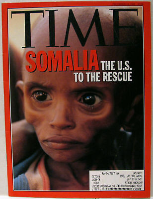 Vintage TIME Magazine Dec December 14 1992 FINE Somalia/Balkans/Clinton