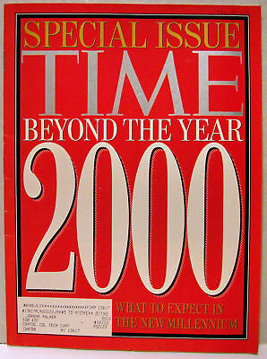 VINTAGE TIME Magazine Fall 1992 Beyond the Year 2000 FINE