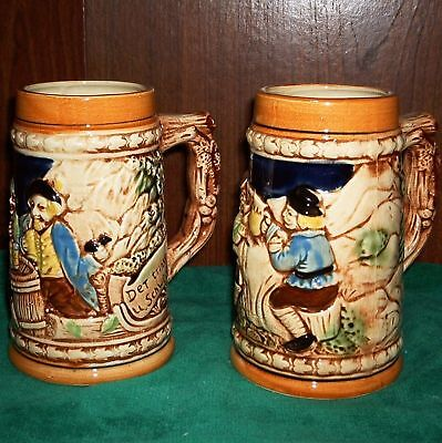 2 German-style Steins, Japan
