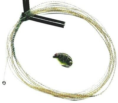 NEW Wonderfurl Moss Green Furled Fly Fishing Leader WITH Ring