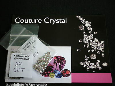 1000  Ss9 2.6Mm Swarovski Crystals You Choose Colour