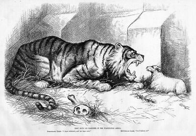 Democratic Tiger, Republican Lamb, Thomas Nast Politics
