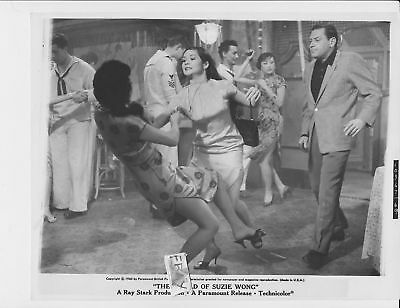 Nancy Kwan busty leggy hits girl VINTAGE Photo