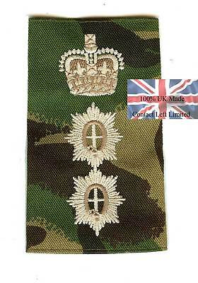 PAIR of British Army Guards Colonel RANK SLIDES (Foot