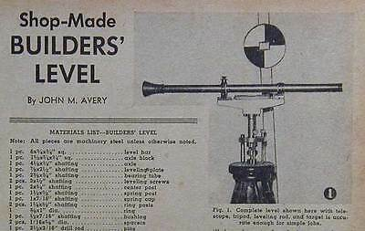 Builders Level Transit PLANS rifle scope conversion