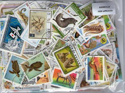 ANIMAUX 1 000 timbres différents
