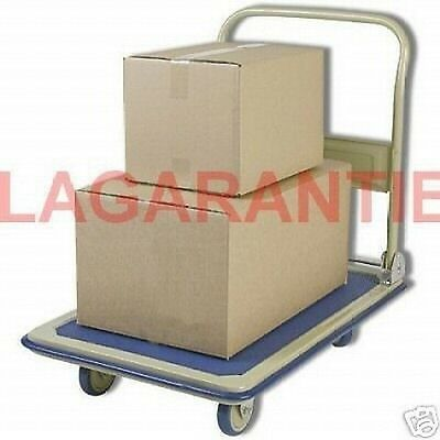 Diable Chariot Trolley Transport 150 Kg Pliable Neuf