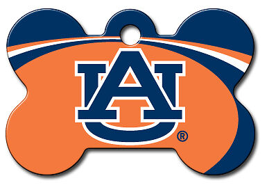 Officially Licensed NCAA  Auburn Tigers Pet Tag
