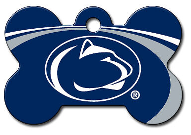 Officially Licensed NCAA Penn State Lions  Pet Tag
