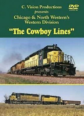 Chicago & North Western The Cowboy Lines DVD C&NW