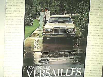 Grand Catalogue Lincoln Versailles 1979