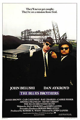 The Blue Brothers - Movie Poster 6.5x10 Color Photo