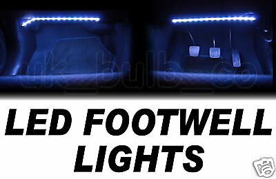 LED Interior Flexible Footwell Foot Well Pedal Lights 2
