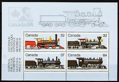 Canada 1984 Sc1039a MiB3 mnh Locomotives-PhilExhibition