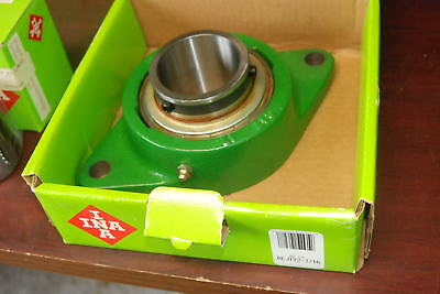 INA RCJTY 2-7/16, 2 bolt flange bearing,  NEW