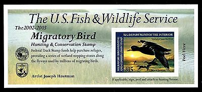 US.# RW69A Federal Duck Stamp MINT POST OFFICE FRESH!