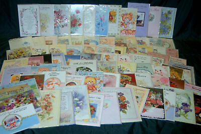 80 MOTHER'S DAY CARDS - all different wholesale/job lot