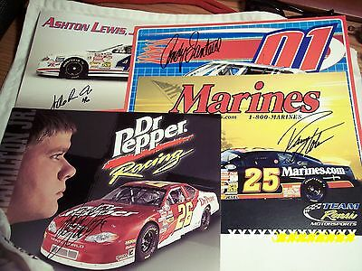 Nascar Prints with Authentic Signatures