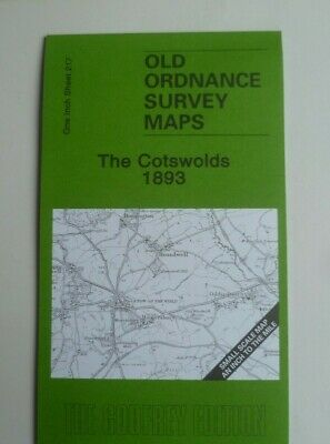 Old Ordnance Survey Maps The Cotswolds Including Map Bishops Cleeve 1893 S 217