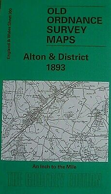 Old Ordnance Survey Map  Hampshire Alresford Alton District & Plan Selborne 1893