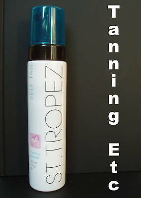 NEW  St Tropez BRONZING MOUSSE 240ml Step 3 + 20 gloves