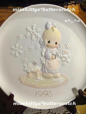 Precious Moments~PLATE~142670~DATED 1995~He Covers The