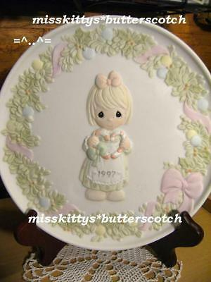 Precious Moments~PLATE~272701~DATED 1997~Cane You Join