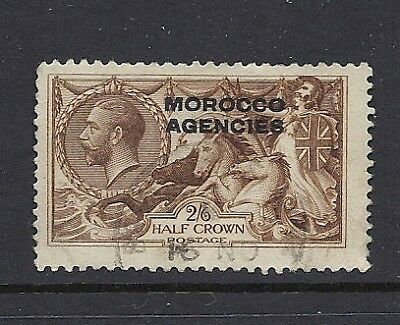 GB MOROCCO AGENCIES 1914-21 KGV Sc 217 USED