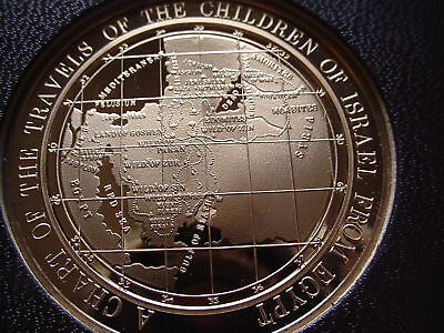 Thomason Medallic BIBLE 32: CHILDREN OF ISRAEL'S TRAVELS FROM EGYPT Franklin